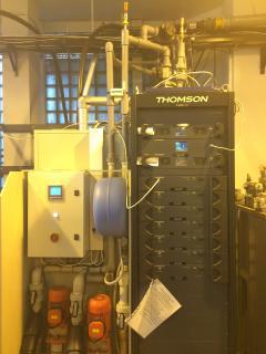 Передатчик второго мультиплекса с системой охлаждения